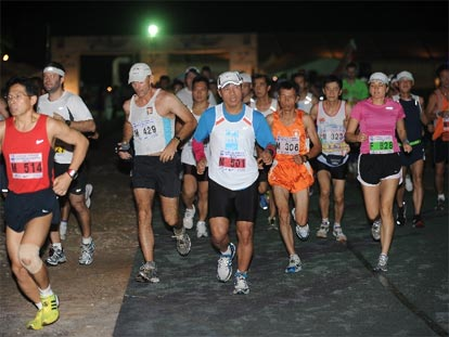 Phuket International Marathon, Laguna, Bang Tao Bay
