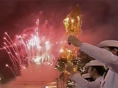 HM King Bhumibol Adulyadej birthday celebrations in Bangkok 2010