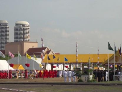 The Royal Ploughing Ceremony in Bangkok, Thailand